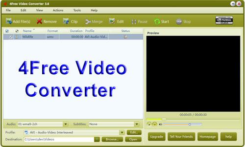 4Free Video Converter
