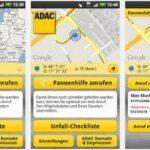 ADAC Pannenhilfe rufen mit Android App