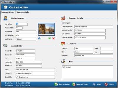 Adressbuch Software