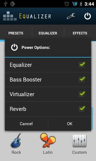 Android Equalizer App