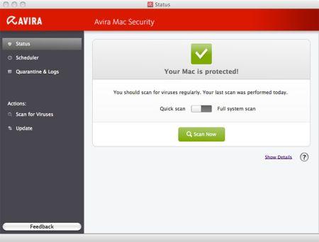 Avira für Mac