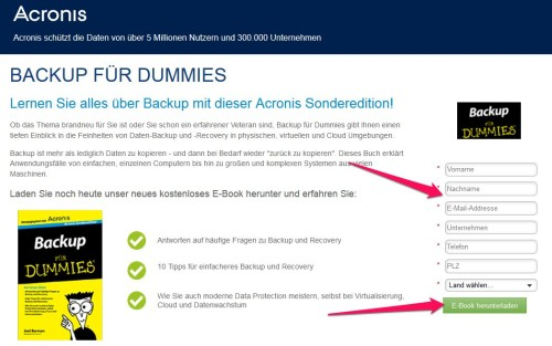Backup für Dummies