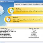 BackUp Maker – Erstellung von Datensicherungen