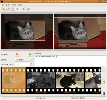 Bilder als HD Video speichern