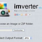 imverter – Bilder kostenlos in verschiedene Formate umwandeln