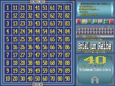 Bingo Spiel Vorlagen