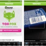 Kosmetik schädliche Inhaltsstoffe finden mit dem Smartphone