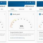 Beste Position für WLAN Repeater finden mit devolo Android App