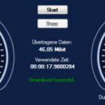 Datei Download Geschwindigkeit testen – Speed Test Freeware