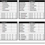 Euro 2012 Excel Spielplan zum gratis Download
