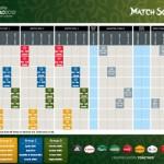 Fußball Europameisterschaft 2012 offizieller Spielplan der UEFA