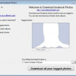Facebook Fotos runterladen – Fotoalbum Download Software