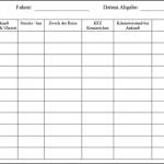 fahrtenbuch vorlage kostenlos zum download fr pdf openoffice oder word - Fahrtenbuch Muster