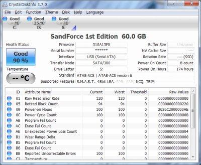 Festplatte analysieren