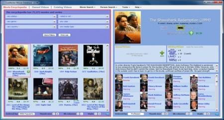 Filmdatenbank erstellen