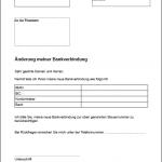 Änderung der Bankverbindung (Finanzamt) PDF Vordruck