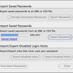 Firefox Passwörter exportieren oder einfügen