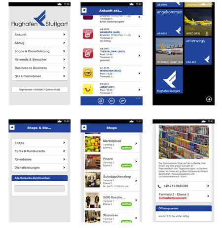Flughafen Stuttgart App