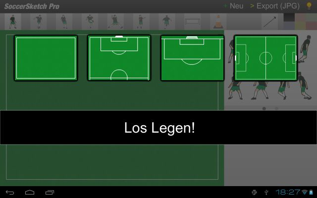 fu ball trainingspl ne erstellen mit gratis software soccersketch. Black Bedroom Furniture Sets. Home Design Ideas