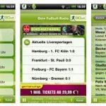 Fußballergebnisse live mit 90elf – Android Fußball Radio