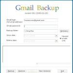 GMail Backup erstellen / Daten sichern