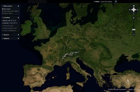 Google Earth online - Alternative