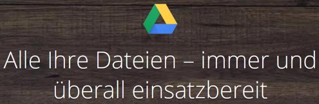 Google Speicherplatz
