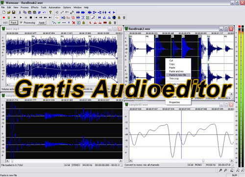 Gratis Audioeditor