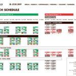 Spielplan Handball WM 2019