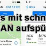 Hotels mit schnellem WLAN finden – Hotel WiFi Test (iPhone / iPad)