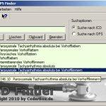 ICD-Codes / Diagnoseschlüssel (Krankheitsbilder) mit gratis Software abfragen