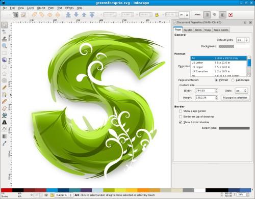 Inkscape gratis zeichenprogramm f r vektorbilder for Editor de logotipos