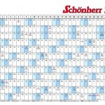 Kalender 2011 als kostenlose PDF Vorlage zum download