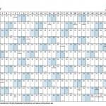 Kalender Vorlage 2012 mit Schulferien und Feiertagen – PDF kostenlos