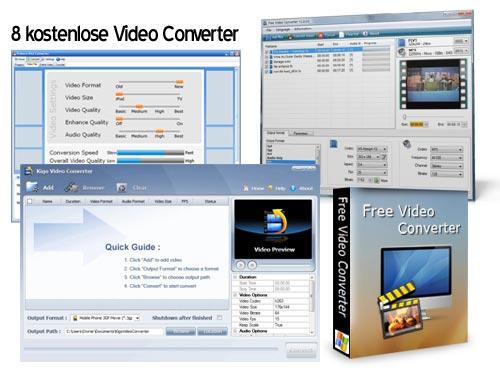 Kostenlose Video Converter
