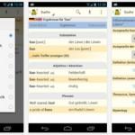 Wörter übersetzen in verschiedene Sprachen mit dem LEO Wörterbuch für Android