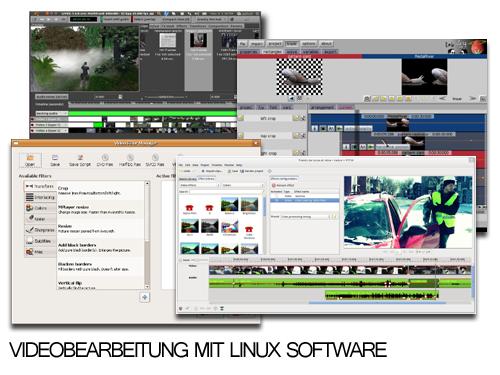 Linux Videobearbeitung