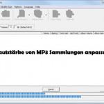 Tonstärke von verschiedenen MP3 Files anpassen