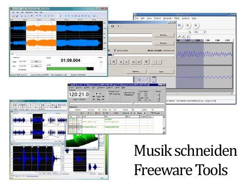 Musik schneiden - Freeware