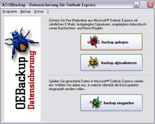 Outlook Express Backup Software