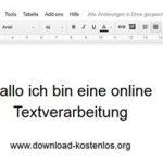 Google Docs im Internet: Dokumente und Briefe erstellen