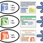 Online Übersetzungstool für Office Dokumente gratis