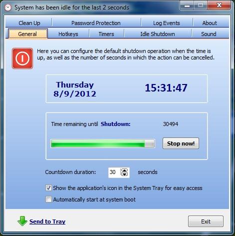 PC automatisch herunterfahren