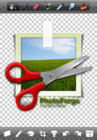 PhotoForg Bildbearbeitung iPhone App
