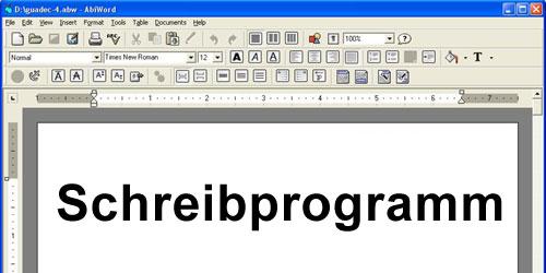 kostenlos schreibprogramm