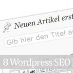 8 kostenlose SEO WordPress Plugins – gratis download