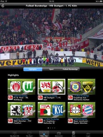 Sky Fussball Bundesliga App