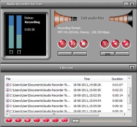 Sound-Aufnahme-Software