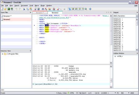 Texteditor Software