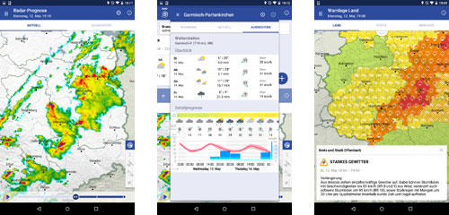 Unwetter Android App